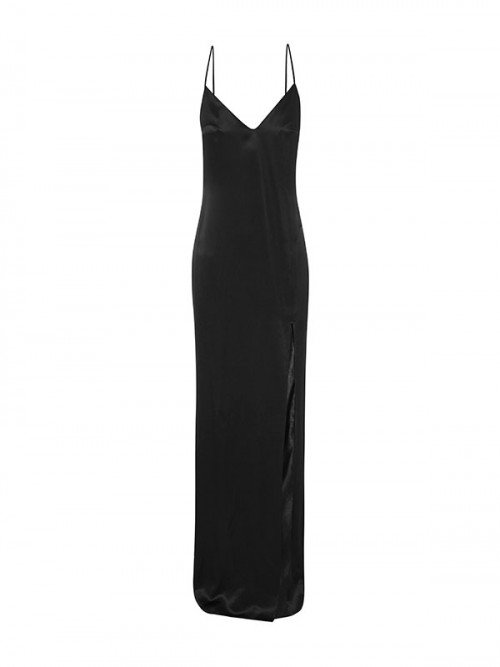 Silk Slip Dress - Evening Wear by NATALIE CHAPMAN