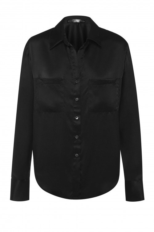 The Classic Style Shirt in Black