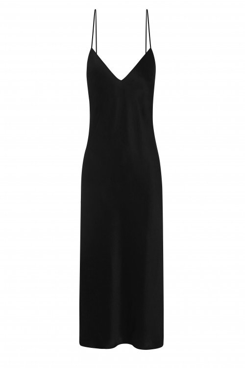Silk Slip Dress is available in short and floor length. A must have luxury item for your wardrobe.