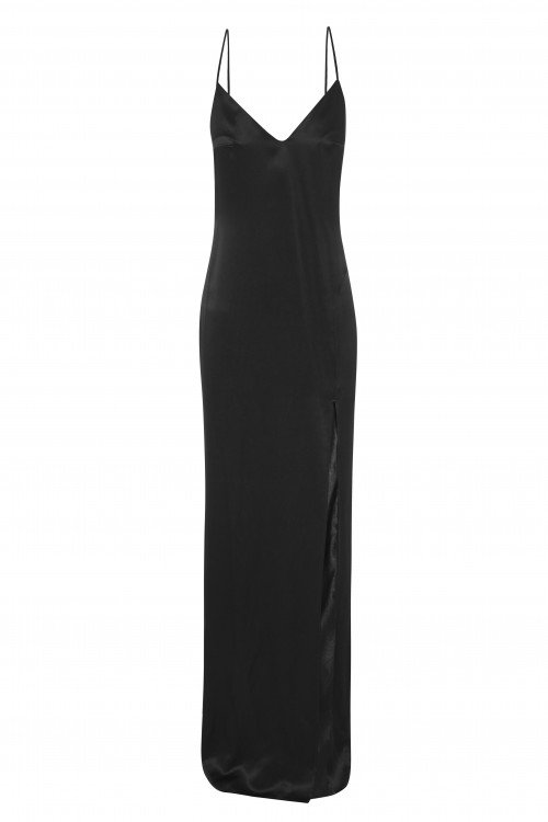Slip evening dress