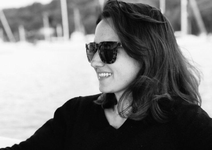 Founder & Head Designer Natalie Chapman in Sydney, Australia.