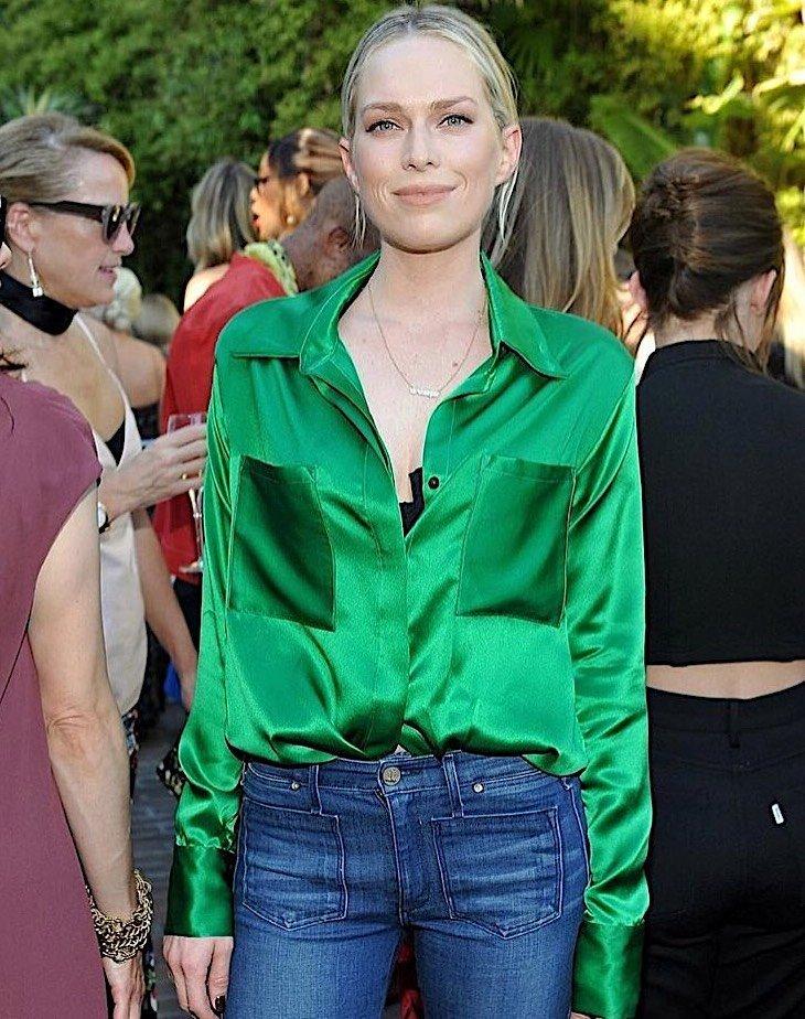 Erin Foster - Classic Silk Shirt