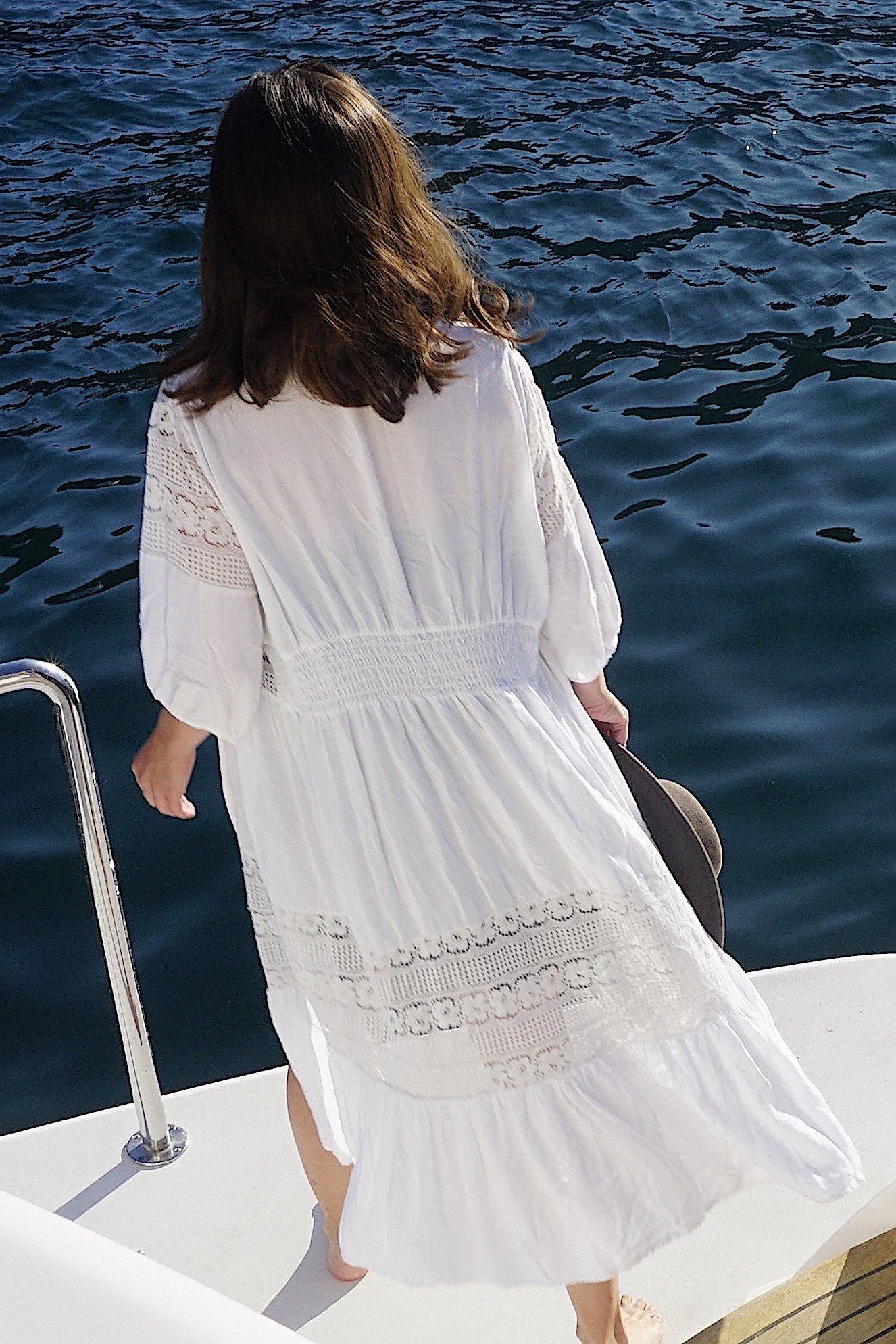 Custom Lace Robe